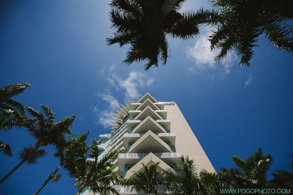 Wedding day at the Hyatt Pier 66 in Fort Lauderdale (image by Pogo Photo)