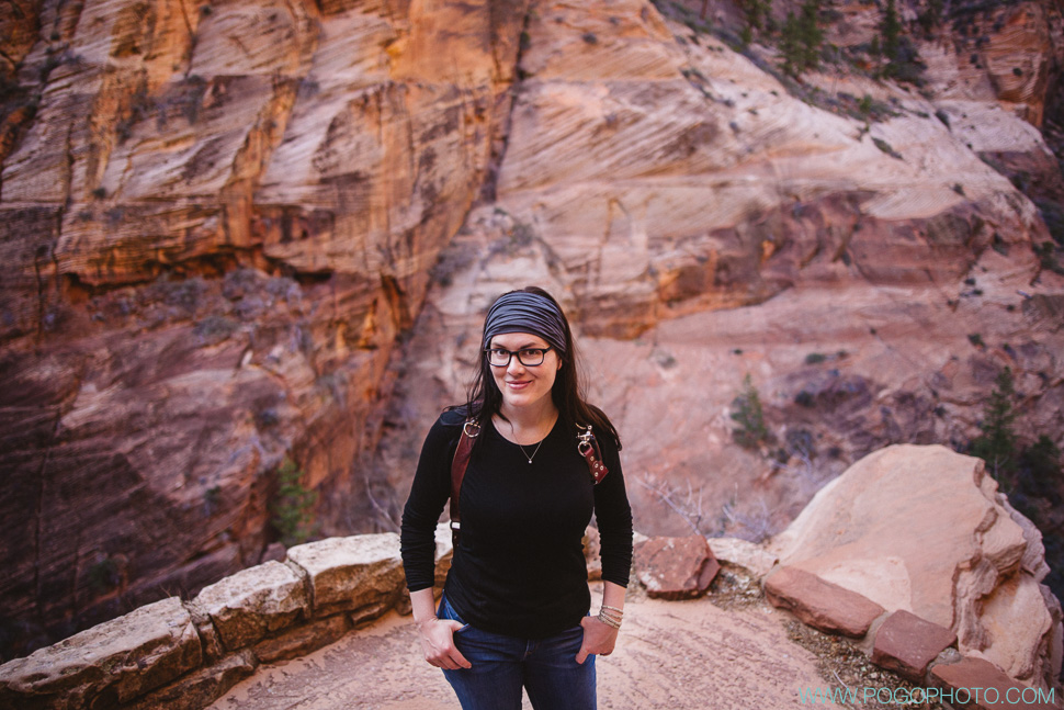 Angels Landing climb in Zion National Park